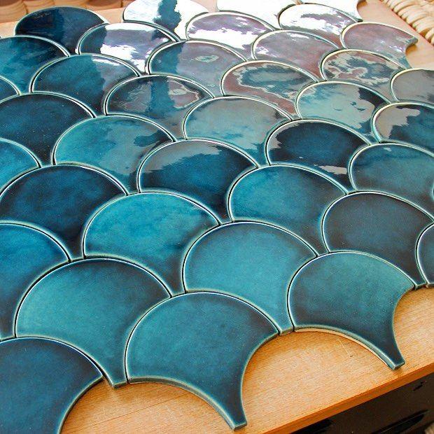 Keramik Model Fish Scale