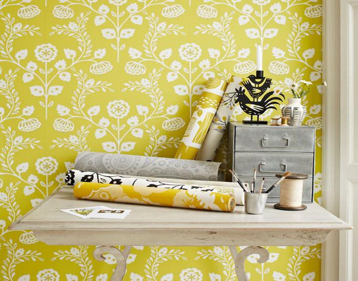 Siapkan wallpaper dinding