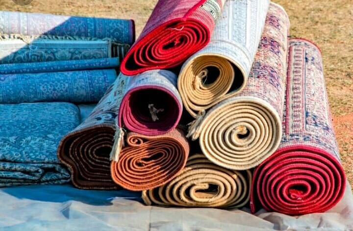 Bahan Pembuatan Karpet