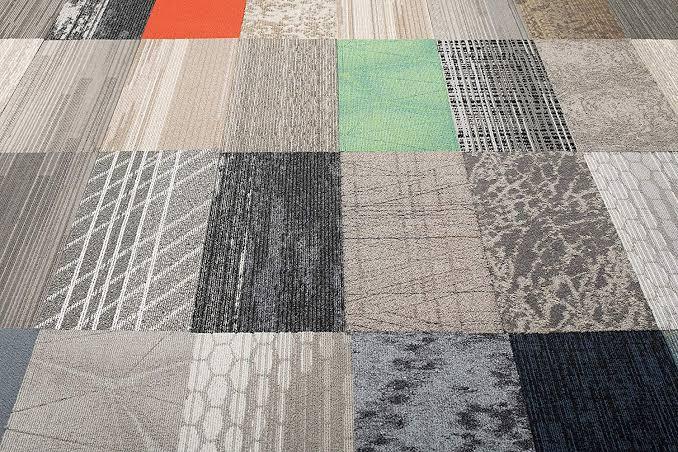 Motif Karpet Tile